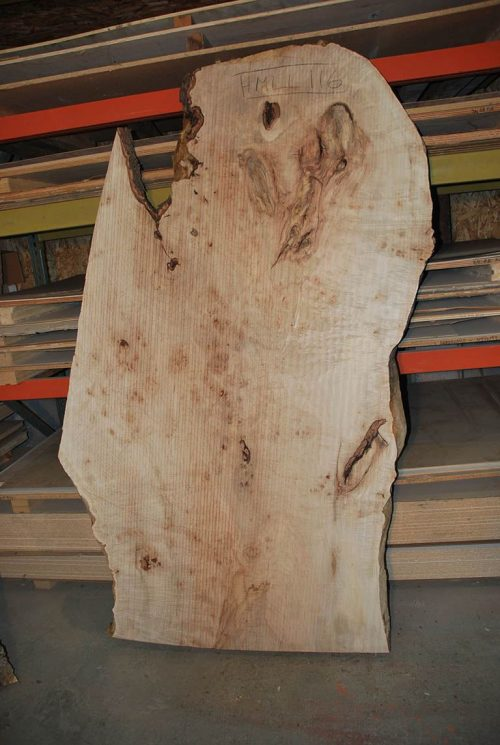 Slabs over 5 Ft Maple Slab 82″