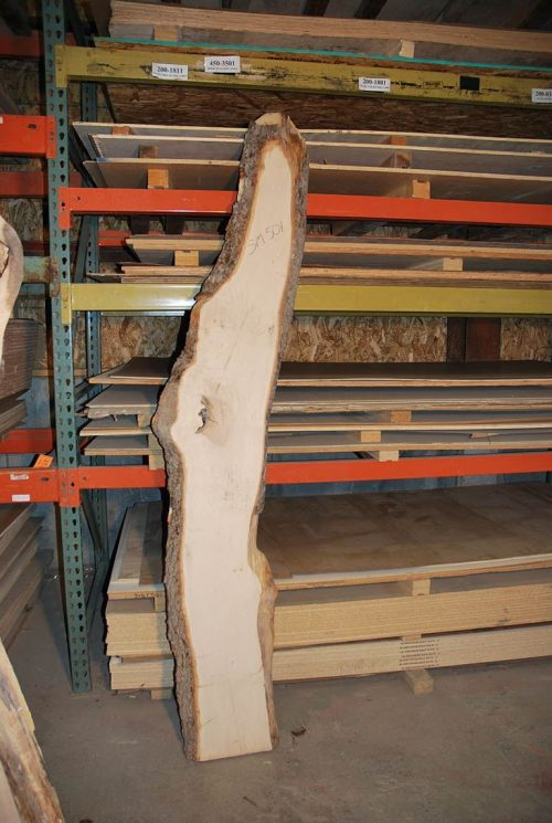 Slabs over 5 Ft Maple Slab 90″ x 15″