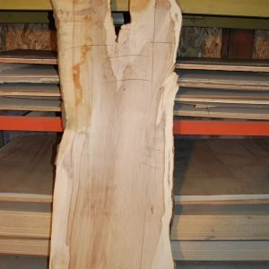 Slabs over 5 Ft Maple Slab 74″