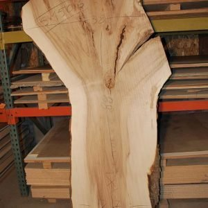 Slabs over 5 Ft Maple Slab 88″