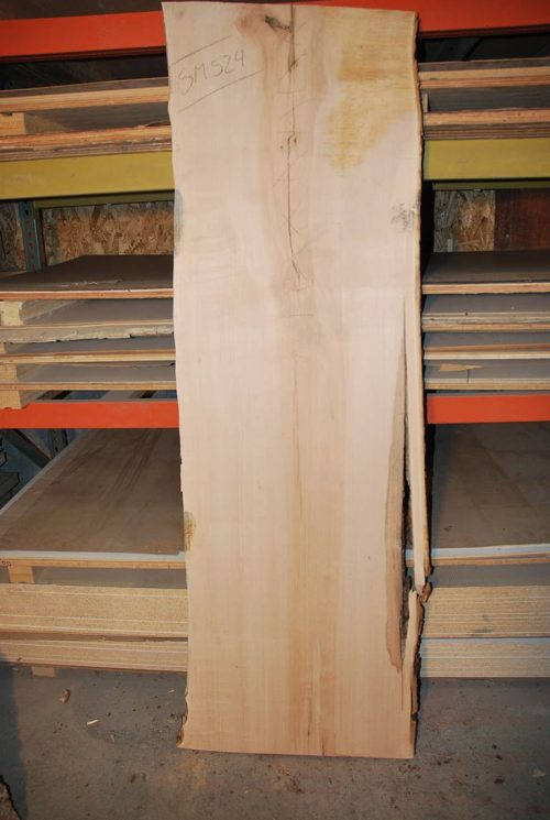 Slabs over 5 Ft Maple Slab 80″ x 27″