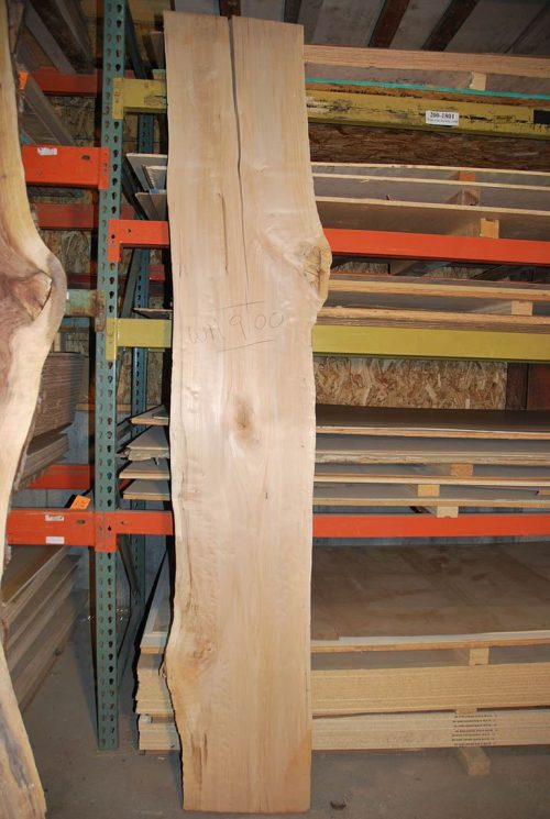 Slabs over 5 Ft Maple Slab 107″