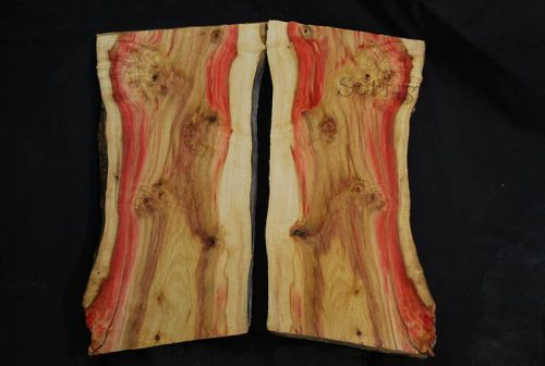 Slabs under 5 Ft Flame Box Elder Set 18″