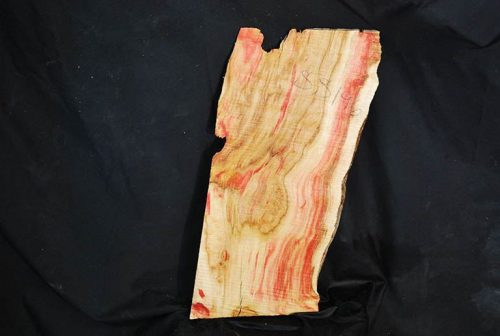 Slabs under 5 Ft Flame Box Elder Slab 18″ x 10″