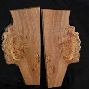 Burls Elm Burl Set 18″