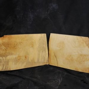 Box Elder Burl Set 14″