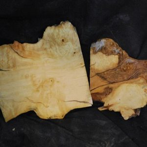 Box Elder Cluster Burl Set 11.5″