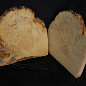 Box Elder Burl Set 10.5″