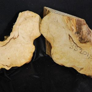 Box  Elder Burl Set 8″