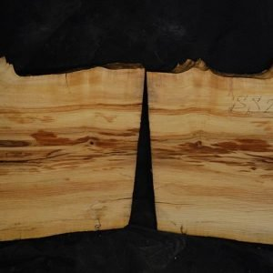 Box Elder Cluster Burl Set 14″