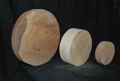 Turning Wood Rounds