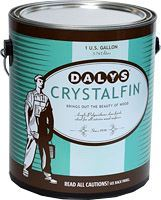 Finishes Dalys CrystalFin Acrylic Polyurethane