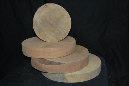 Turning Wood 6″ Rounds