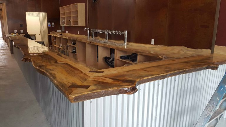 wood bar for Restaurant