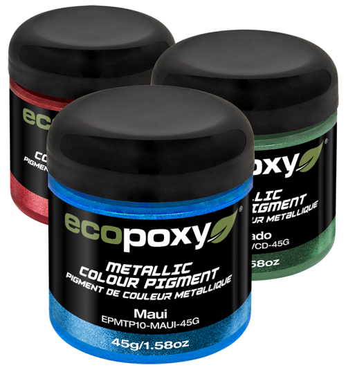 ecopoxy metallic mix in color for epoxies