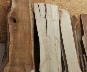 Slabs over 5 Ft Ash Slab 27″ x 128″