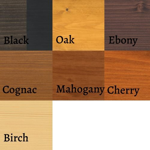 osmo wood wax colors