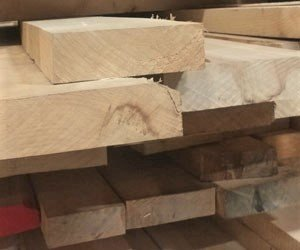 Domestic White Oak, Quarter Sawn