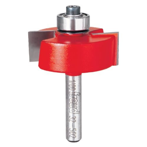 Joinery 5/16″,3/8″,7/16″,1/2″ Depth Rabbeting Bit with Bearings (1/4″ Shank)