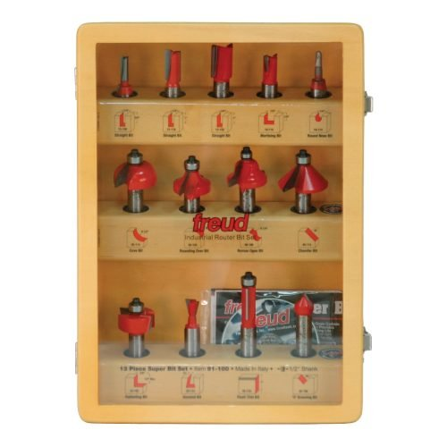 Router Bit Sets Super Bit Set, 13 Piece