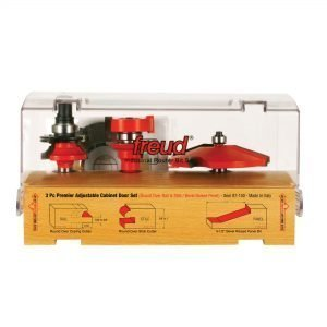 Adjustable Cabinet Bit Sets, 3 Piece