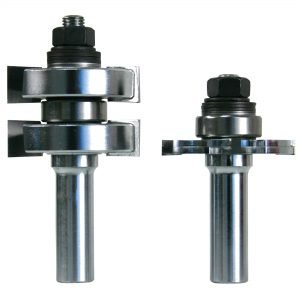 Adjustable Tongue & Groove Bit Set