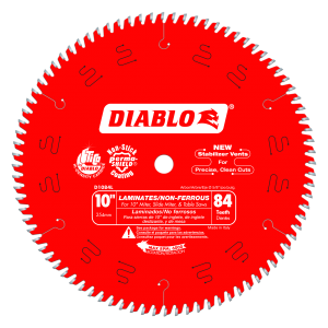 10 in.  x 84 Tooth Laminates & Non-Ferrous Metals Saw Blade