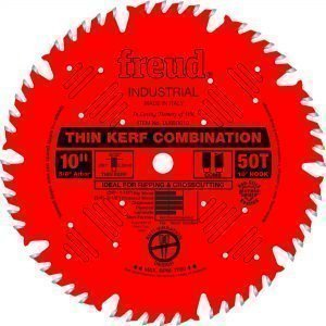 10″ Thin Kerf Combination Blade
