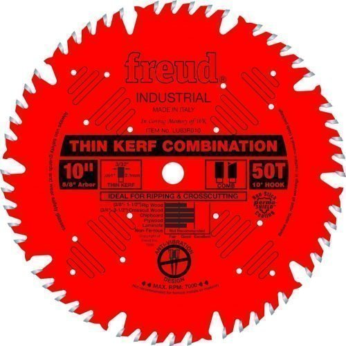 Freud® Woodworking Blades 10″ Thin Kerf Combination Blade