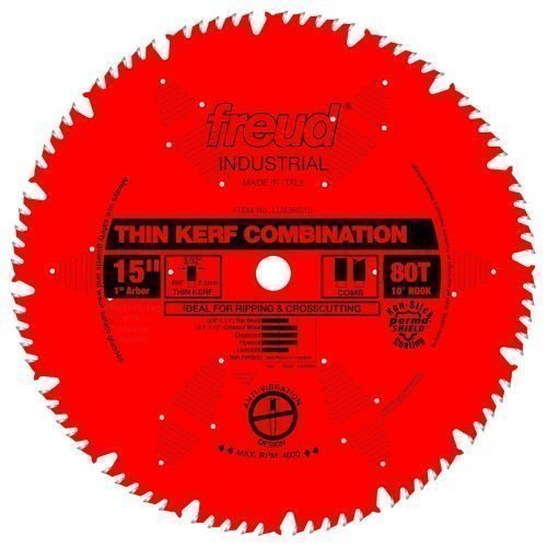Freud® Woodworking Blades 15″ Thin Kerf Combination Blade