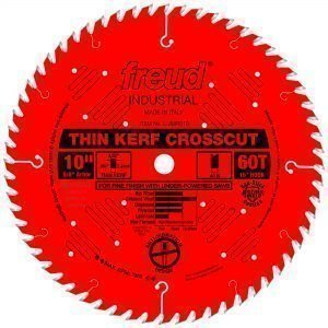 10″ Thin Kerf Fine Finish Crosscut Blade