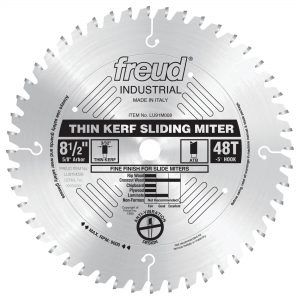 8-1/2″ Thin Kerf Sliding Compound Miter Saw Blade