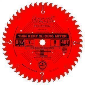 8-1/2″Thin Kerf Sliding Compound Miter Saw Blade