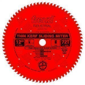 12″ Thin Kerf Sliding Compound Miter Saw Blade