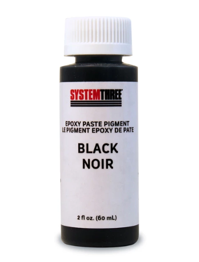 System Three Epoxy Pigment – black, 2 oz