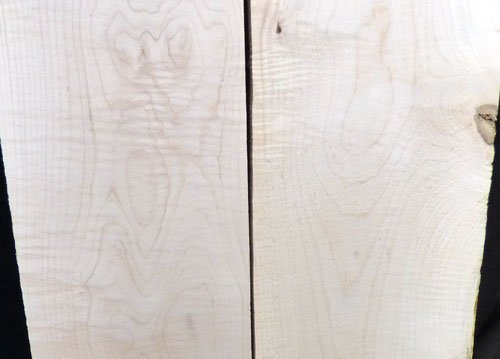 Eastern Red Curly Maple Lumber pack