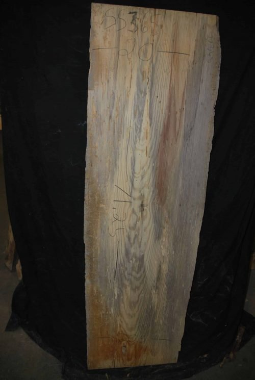 pine wood slab live edge