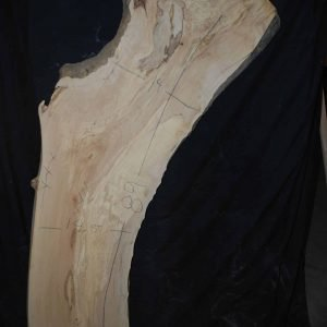 Maple Slab (376A) 87″ x 15″