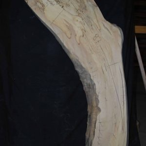 Maple Slab (376B) 87″ x 16″
