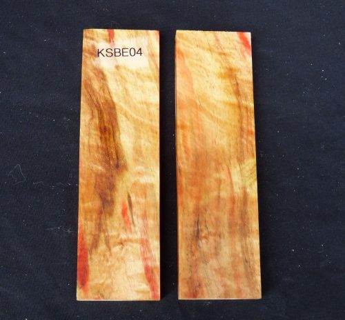 flame box elder knife scale