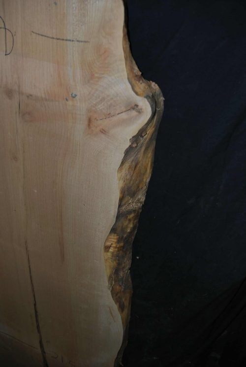 Maple live edge wood slab