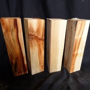 Aspen Turning Blocks, Set of 4