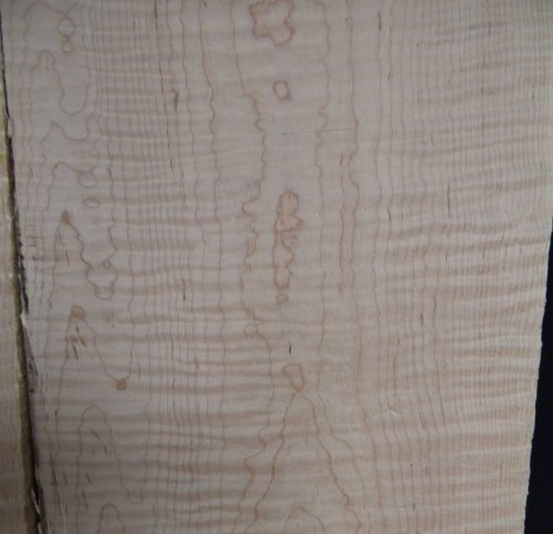 high curly maple lumber