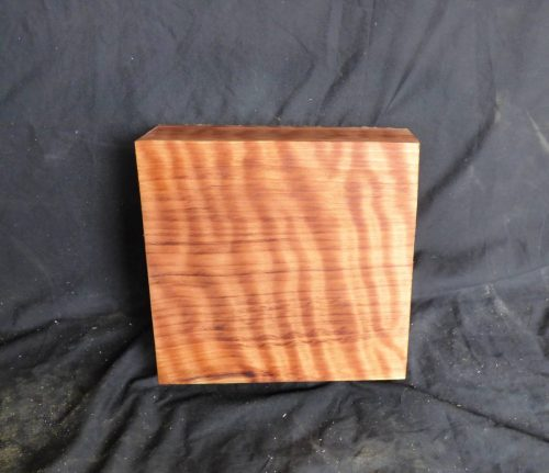 Highly Figured Curly Redwood Block 1