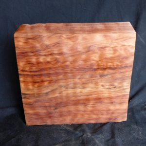 Highly Figured Curly Redwood Block 3