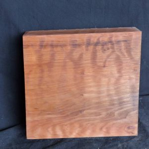 Highly Figured Curly Redwood Block 4