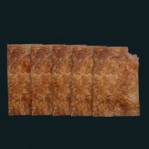 Maple Burl Wood Veneer Sheets