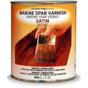 System Three Marine Spar Varnish